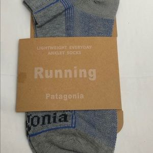Patagonia Run Organic Cotton Socks Ankle Medium